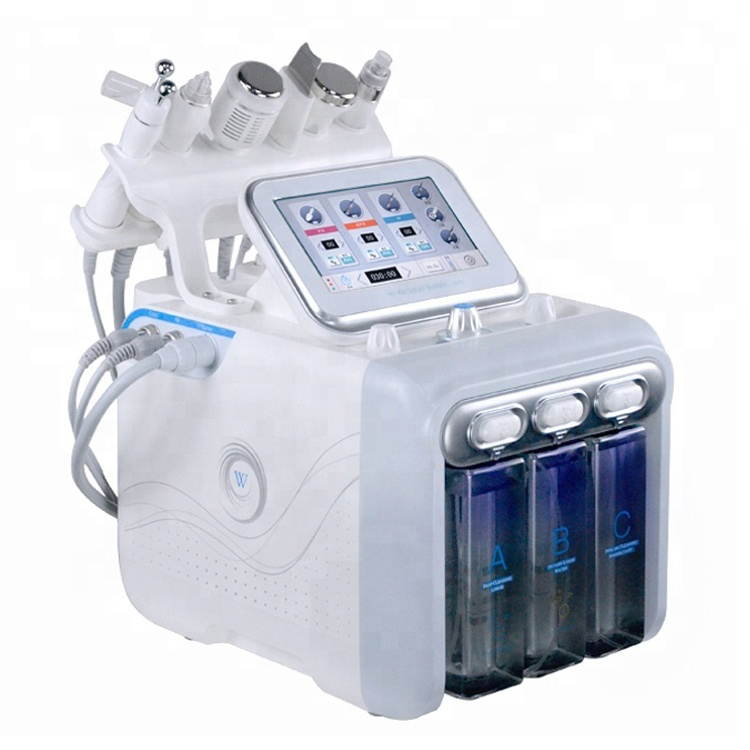 Factory price 6 in 1 multifunction face electronic ultrasound radio frequency beauty device
