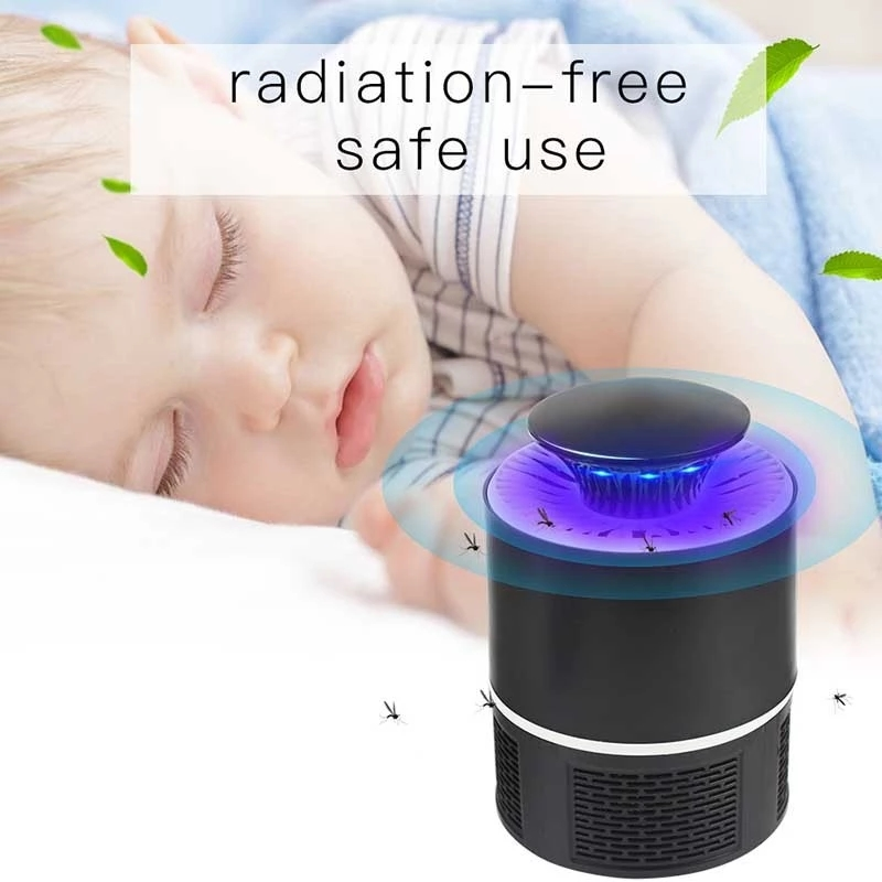 Newest design Indoor intelligence LED Electric mosquito trap/killer lamp