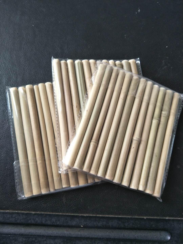 Doğal organik degradable bio-bozunur Içme bambu saman