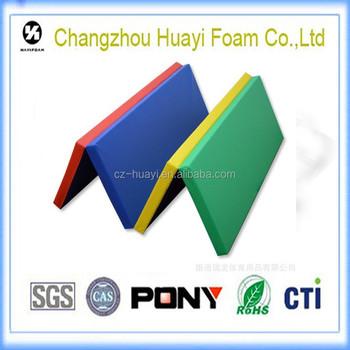 folding gymnastics crash mats gymnastics mats for sale