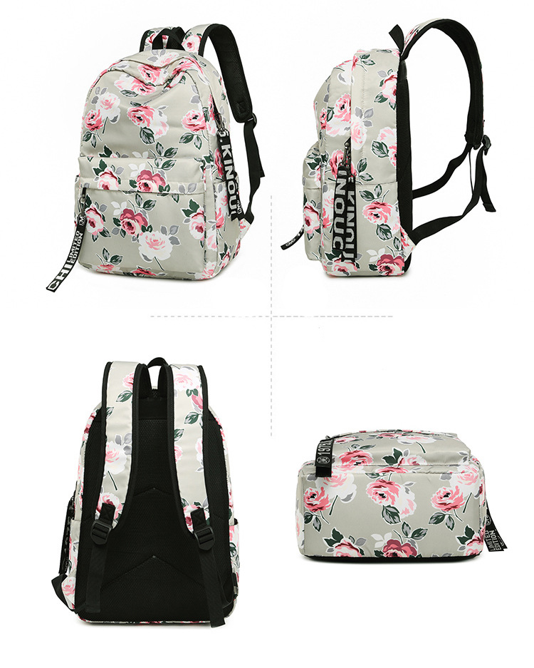 Designer Leisure Girl Bag Daypack Women School Backpacks