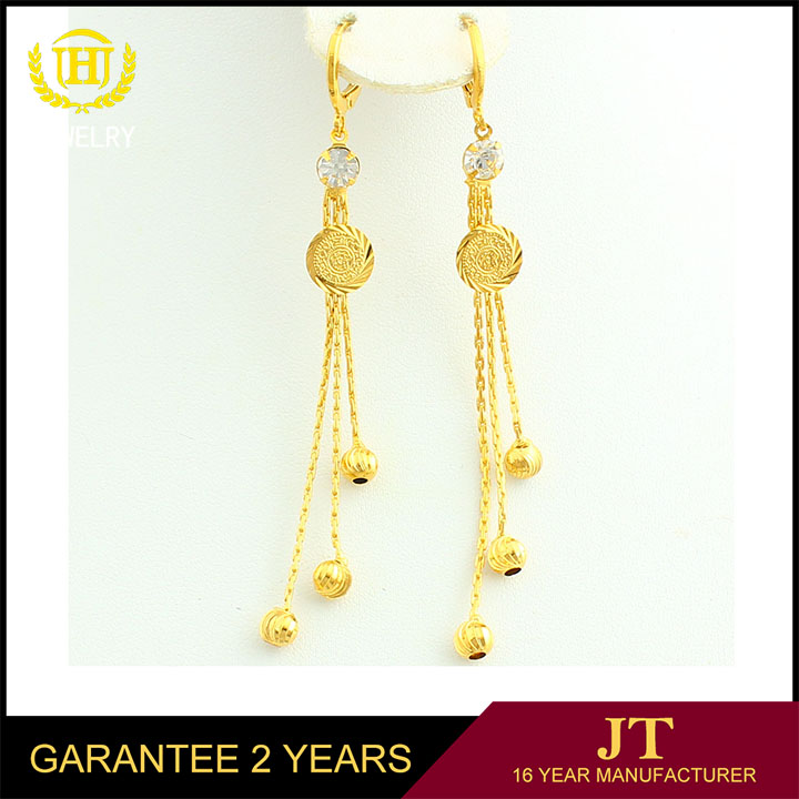 Top Jewelry 24 Carat Gold Earrings 24kt Product On Alibaba
