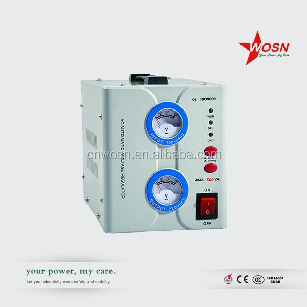 Newest 1500va Avr Relay Auotmatic Voltage Stabilizer