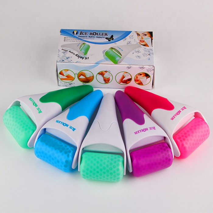 RYZW Factory wholesale massager dermaroller skin cooling derma ice roller