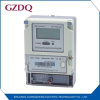 Single phase and digital only display type electronic multi-rate electricity meter with data reading via RS485/the internet