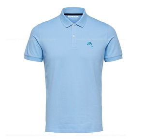 Breathable 100% Premium Quality Polo Shirt 100% Cotton Custom Jersey T Shirt