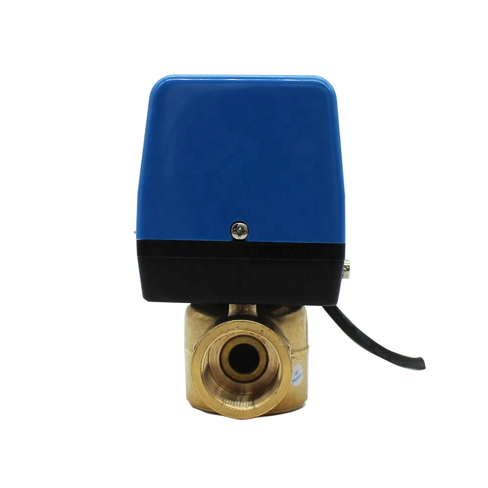 Hotowell Xiamen 3Way Dn15 - Dn25 Option Electronic Motor Drive Actuator Valve