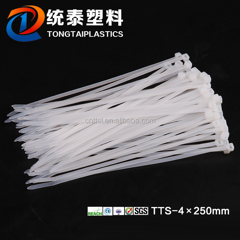 Twist ties/adjustable strap/cable ties tool nylon TTS-4*250