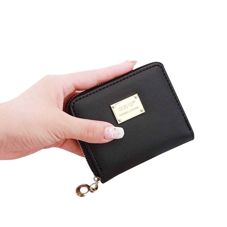 e7f04842abf4 Get Quotations · Small Women Leather Wallet Card Coin Purse Holder Zip Clutch  Purse Handbag