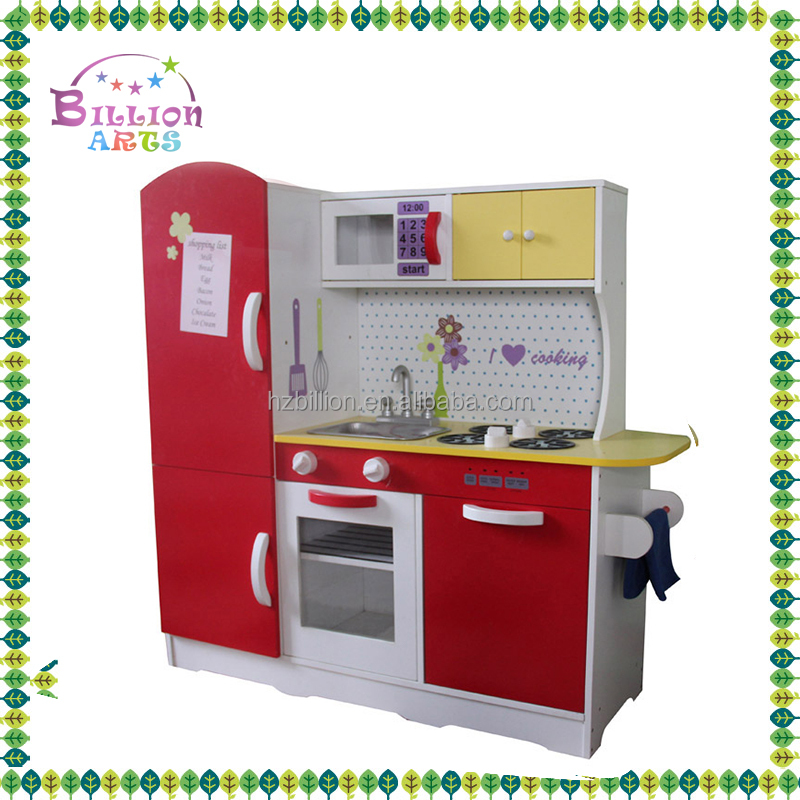 Attractive In Price And Quality Kids Wooden Kitchen Doll House Toy
