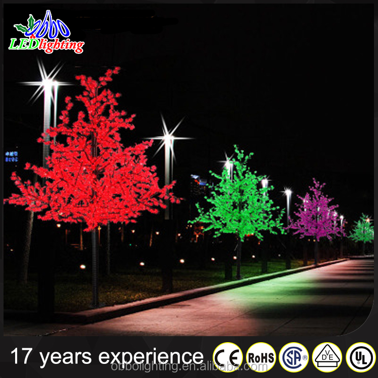Led artificial cherry blossom tree alibaba low price of shipping to canada