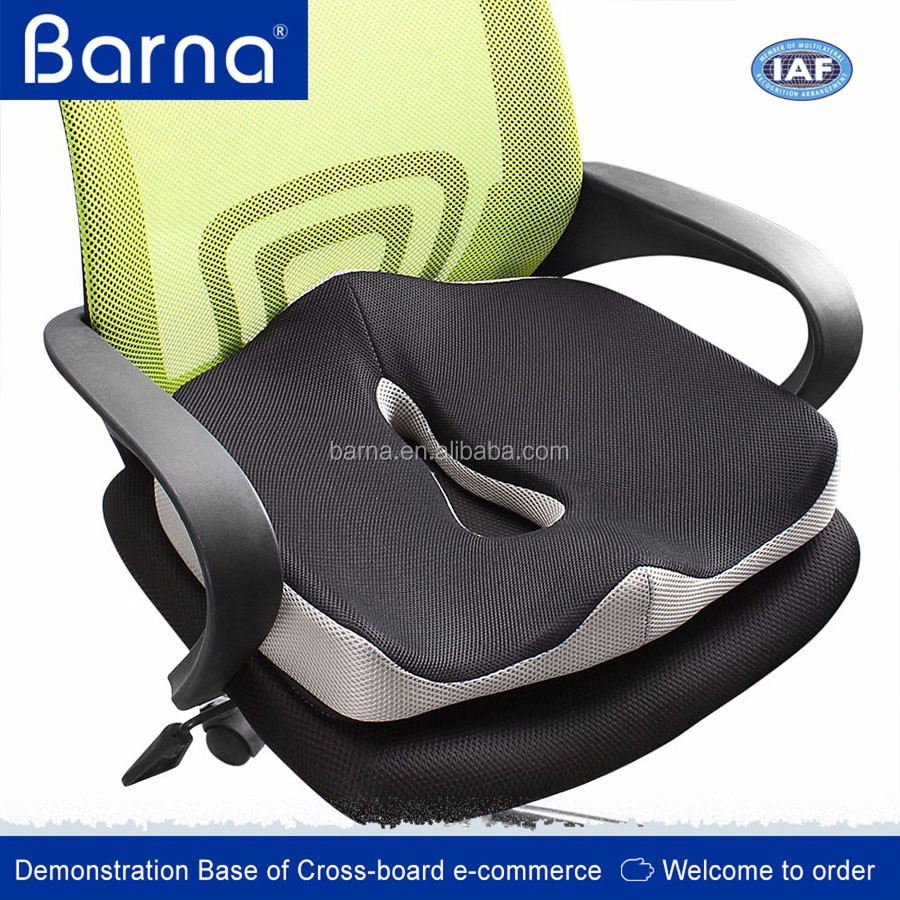 Good Quality Hot Sell Popular Decor Car Seat Cushion Comfort Foam Seat Cushion