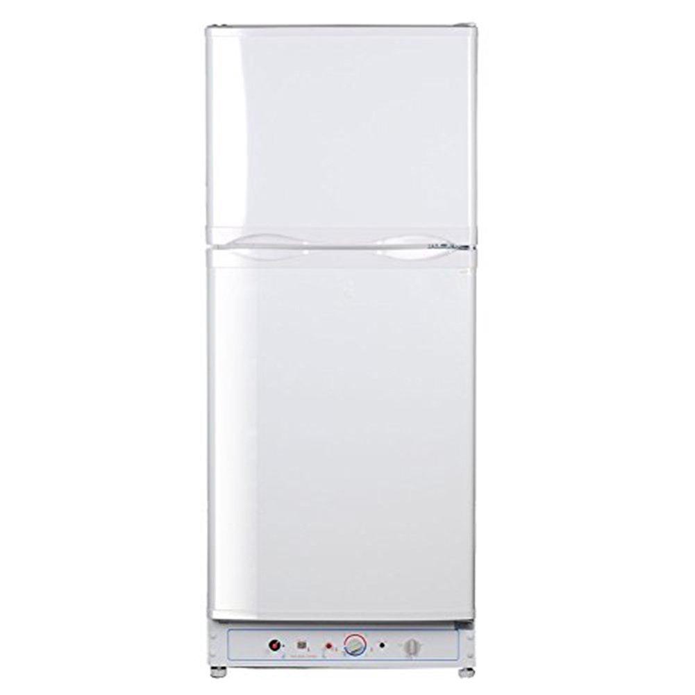 SMETA 6.1Cu,ft Compact Absorption Refrigerator with Freezer Electric/Propane Gas
