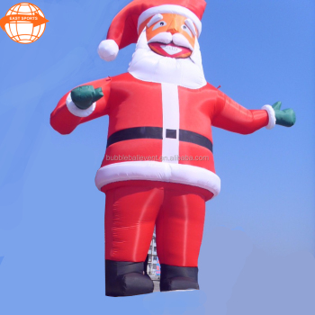 giant inflatable santa claus father christmas christmas decoration 2017
