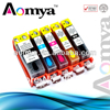 HOTRefillable ink cartridge PGI 425 series For Canon iP 4840 MG5140 MG5240 iX6540 MX884 printer 5 colors with permanent chips