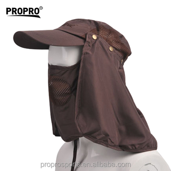 3d1b4130578 Big sales 360 degree Sun Protection Windproof Fishing Cap Neck Face Mask Flap  outdoor Hat