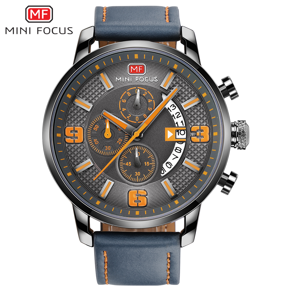 Mini Focus China Watch Factory Customized Logo stainless steel Japan movement man wristwatches