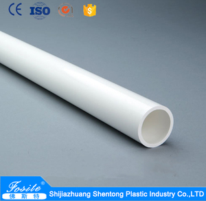 Factory Wholesale 16mm 20mm 25mm 32mm Thin Wall Electrical Conduit Cheap Colored PVC Pipe