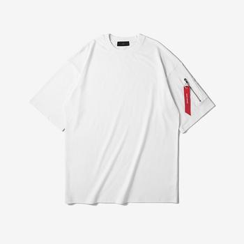 buying new popular style promotion 2017 Summer New Design O Neck Eu Trendy Original Brand Custom Oversized  Ma-1 Pocket Short Sleeve T Shirt For Men - Buy Oversized T Shirt Men,Custom  ...