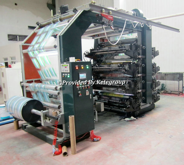 High Quality 6 Color Flexographic Printing Machine Price