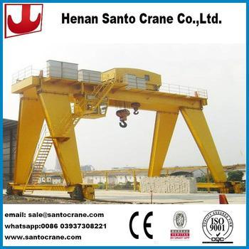 ce  bv certified semi single girder gantry cranes with