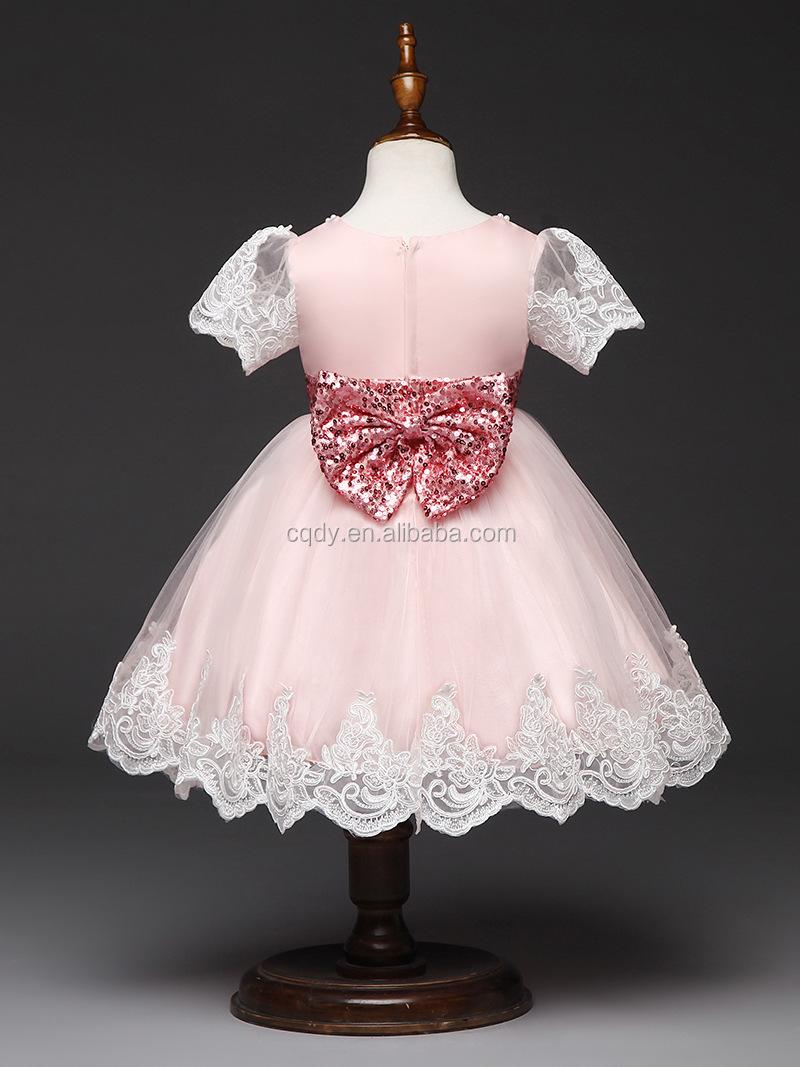 Baby Mädchen Prinzessin Kleid Kinder Hochzeit Sommer Bobbi Partei Ball Gwon  Kind Kleid 20-20 Mt - Buy Kleines Baby Party Kleid,Neues Baby Geboren