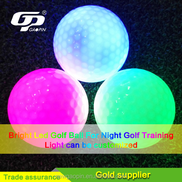 Custom Neoprene golf led ball and tee pouch promotional golf gift sets