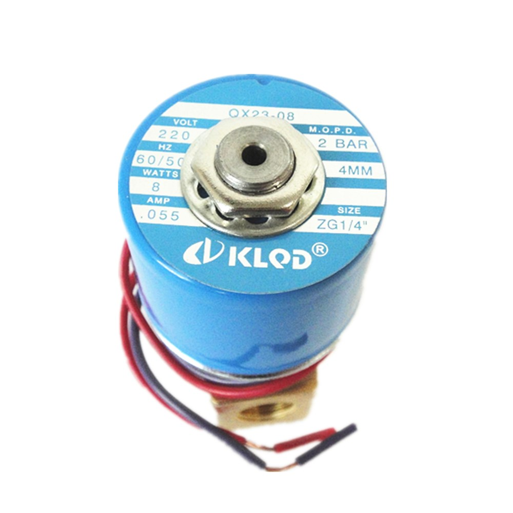 KLQD Custom Type QX23-08 Solenoid Valve 220V for Heat Press Vaccum Machine