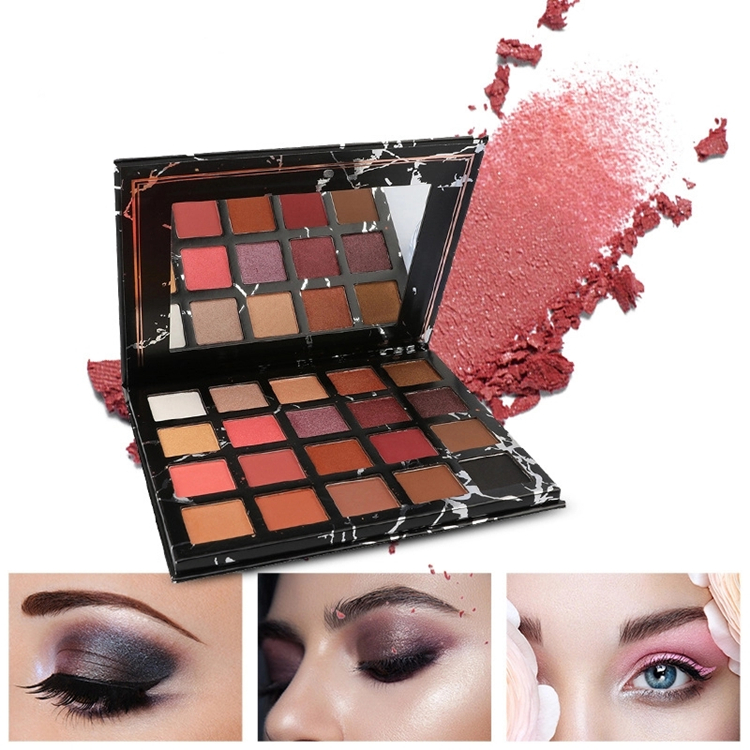 2019 NEW glitter eyeshadow makeup Factory Directly Sell  eyeshadow palette with 20 color