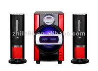 2012new 2.1 powerful stereo sound system with karaoke