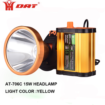Multifunctional led headlamp 15W rechargeable hunting light