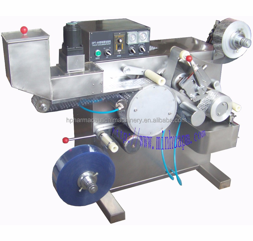 mini alu/pvc blister packing machine