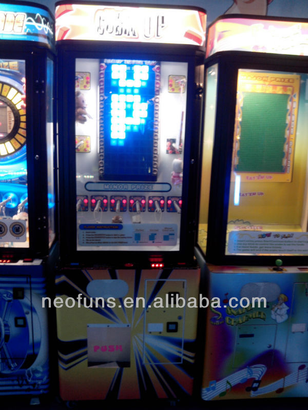 Hot sales product stacker redemption machine/Mini stacker game machine