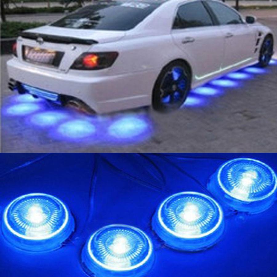 Aliexpress Com Buy 8 Pcs Led Blue Light Underbody Glow