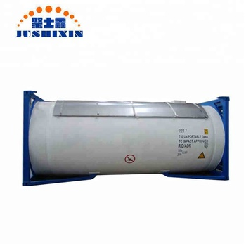 20ft Tank Container For Liquid Helium Liquid Gas Transport ...