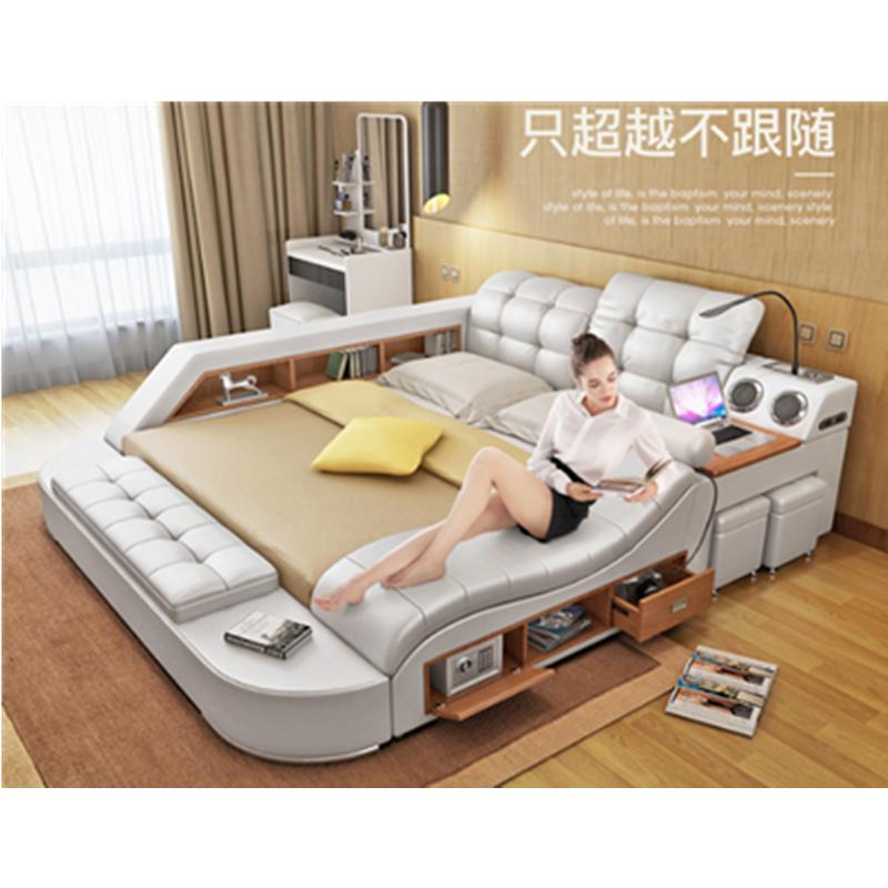 Bedroom furniture/multifunctional bed Modern massager bed