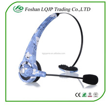 Wireless Bluetooth Headset Headphone Over the Head Gaming Headset For Sony Playstation 3 PS3 Mic With Microphone
