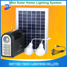 New products Solar Panel Energy Kits Home Lighting System