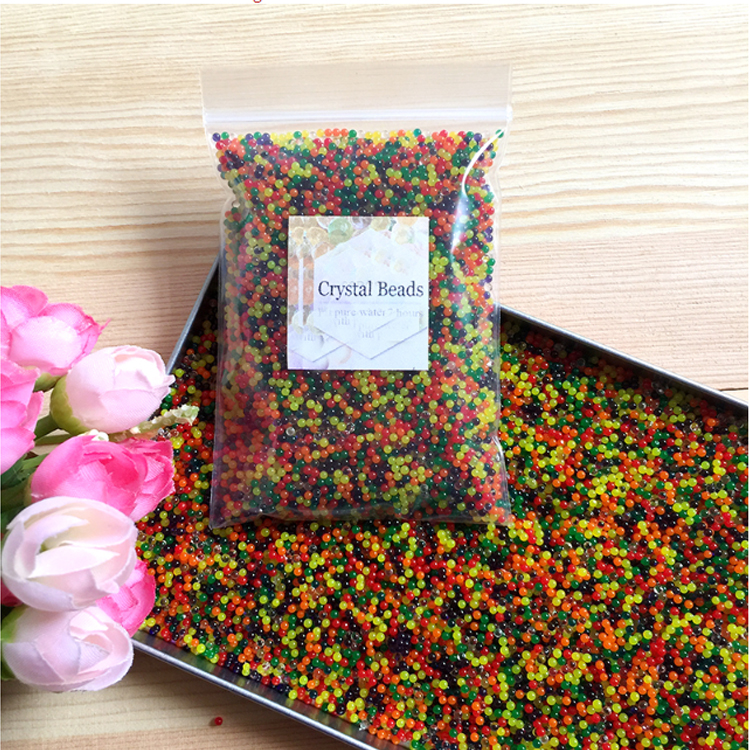 New Material Expandable Water Beads, Eco-Friendly Unscented Gel Water beads