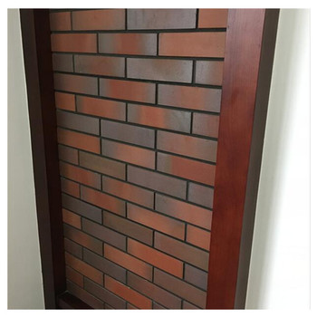 Exterior Red Clay Wall Thin Brick Veneer