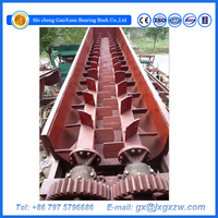 Alluvial gold washing plant sand spiral washing equipment log washer