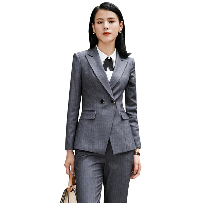 42cb69e38 Venta al por mayor uniforme de oficina para mujeres-Compre online ...