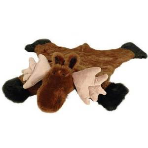 Carstens Kids Plush Moose Rug (Small)
