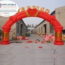 Fashion europe Advertising wedding event Inflatable wedding entrance Arch