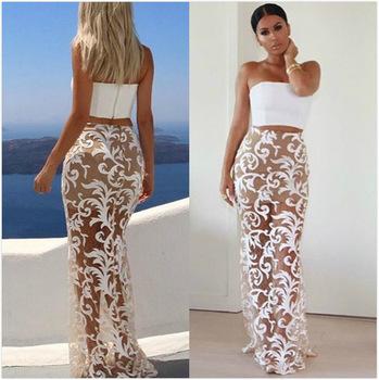 Vvy35 china wholesale white lace flower maxi skirt hot girls midi vvy35 china wholesale white lace flower maxi skirt hot girls midi skirt mightylinksfo