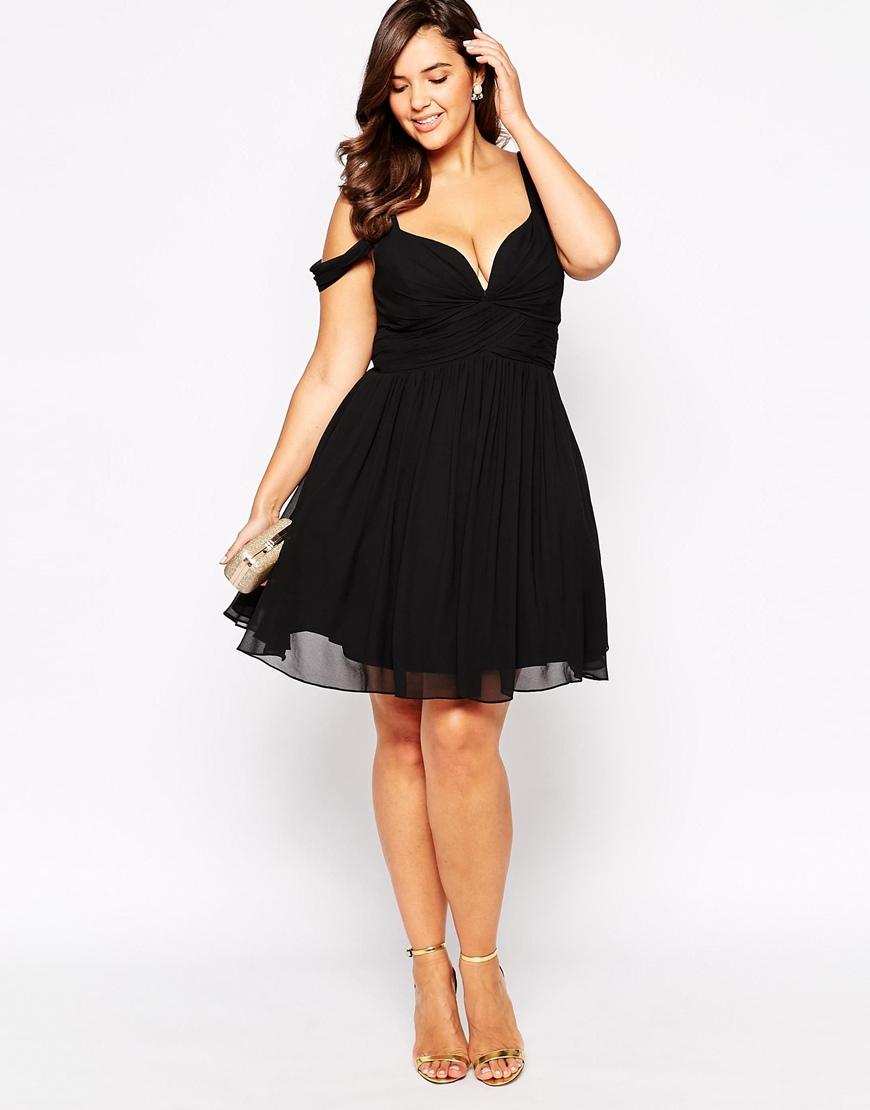 Black Plus Size Short Dresses – Fashion dresses
