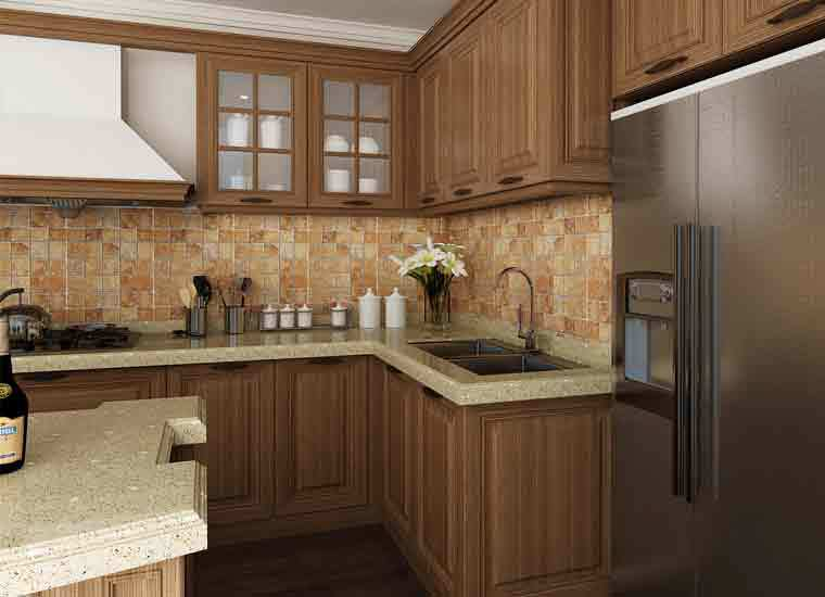Mauritius project cabinets apartments individual kitchen for Individual kitchen units