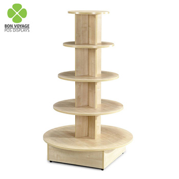 Super Pop Round Floor Wooden Painting 5 Shelves Point Of Sale Wood Stand For Clothing Buy Point Of Sale Wood Stand Point Of Purchase Wood Display Download Free Architecture Designs Osuribritishbridgeorg