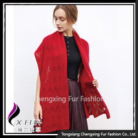 CX3111 Factory Directly Provide Knitted Cashmere Pashmina Scarf Shawl 2016