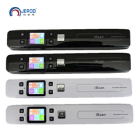 JEPOD Iscan Mini Portable Scanner 1050 DPI Handheld A4 Document Scanner JPG and PDF Formate Barcode Scanner pen